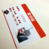 ペットにも身分証を!1枚から印刷できるプラスチックカードで!
